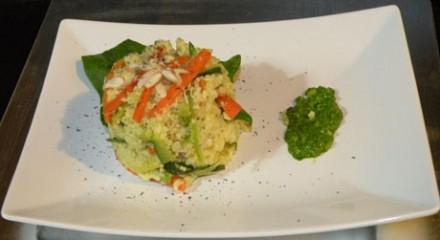 Cous Cous di verdure, Mandorle & Miele