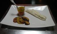 Orata in crosta di sale con emulsione di agrumi